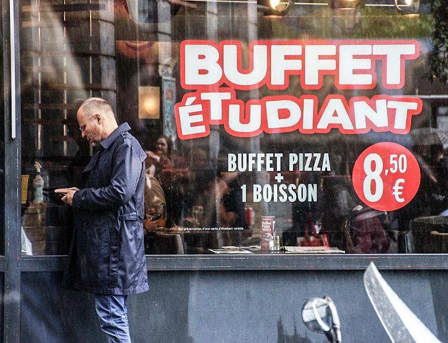Bruxelles Piata Mare buffet etudiant 5