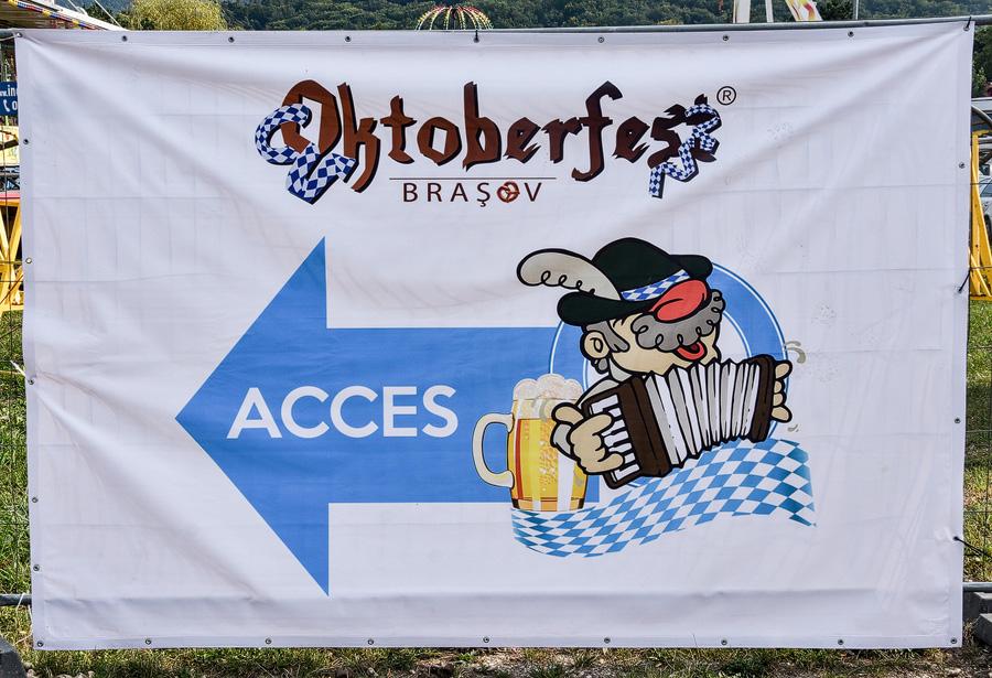 Oktoberfest Brasov acces