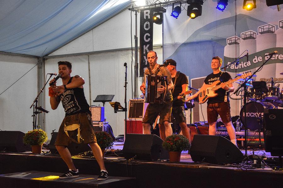 Oktoberfest Brasov trupa rock
