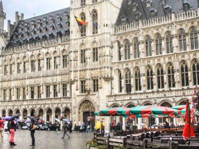 Bruxelles Piata Mare Pano